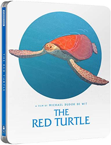 Die rote Schildkröte Blu-ray, Steelbook, The Red Turtle, Blu-ray ohne deutschen Ton, Steelbook, Zavvi exklusiv, Uncut, Region B -