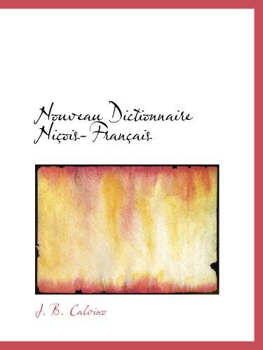 Nouveau Dictionnaire Niois-Franais