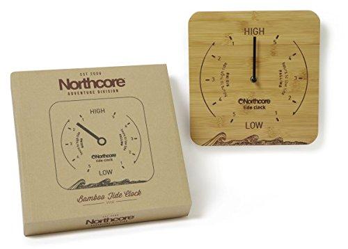 northcore-wall-mounted-tide-clock-bamboo