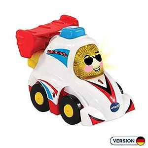 VTech Tut Tut Baby Flitzer 80-514204 vehículo de Juguete - Vehículos de Juguete (Azul, Rojo, Blanco, Coche, De plástico, 1 año(s), 5 año(s), Niño/niña)