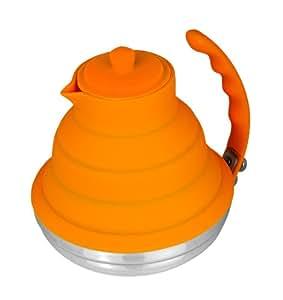 Better Houseware Collapsible Tea Kettle, Orange