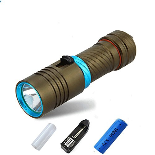 Zmsdt Linterna Sumergible LED Xm L2 Linterna Submarina
