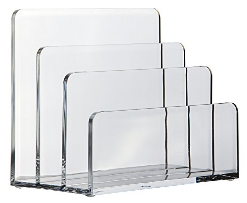 Osco ALH-1 Briefhalter aus klarem Acryl