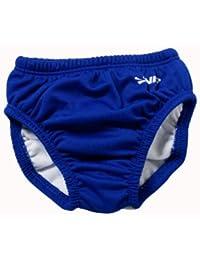 FINIS Schwimmen Windel Diaper Solid - Bañador para bebé niña, XXL
