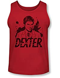 Dexter - Mens Splatter Dex Tank-Top