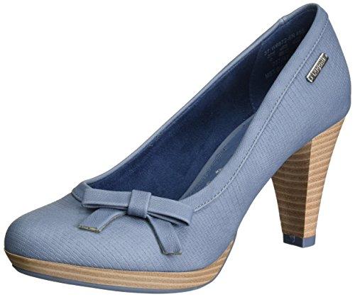 Bugatti-Damen-W66726N-Pumps-Blau-Jeans-455-39-EU
