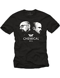 Breaking Bad T-Shirt für Herren CHEMICAL BROS. Schwarz Größe S-XXXL