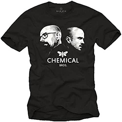 dia del orgullo friki Camiseta Negra Hombre - Chemical Bros.