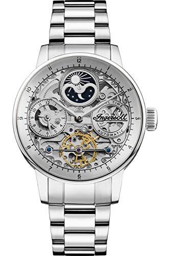 Ingersoll The Jazz Reloj para Hombre Analógico de Automático con Brazalete de Acero Inoxidable I07703