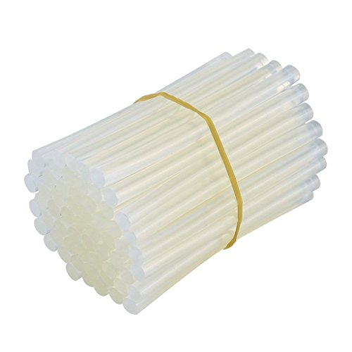 GLUN 11 mm Transparent HOT MELT 14 Glue Sticks for DIY and Craft Work