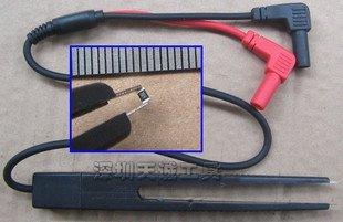 SATKIT Cables multimetro con pinzas para smd