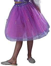 Large Womens UK Size 20 Lilac/HOT Pink Tutu Skirt Longer Length Fairy Ballet Party STAG Hen Night
