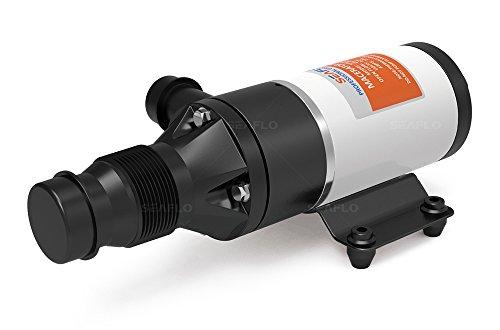 Seaflo 24V 12GPM bomba de 45lpm Alcantarillado Bomba trituradora para inodoro bomba de aguas residuales para RV Marina Barco