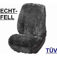 RAU Rlammfellsitz002 Schonbezug Lammfell Anthrazit