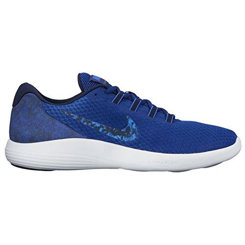 Nike T-shirt à manches courtes de course à pied pour femme Run Swoosh Deep Royal Blue/Obsidian/Medium Blue
