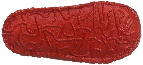 Nanga Mädchen Maja Flache Hausschuhe Rot (ziegelrot)