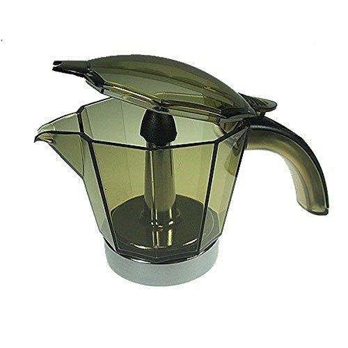Delonghi alicia caraffa e coperchio 2 tazze caffettiera moka elettrica emk2