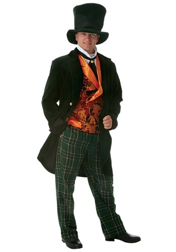 Plus Size Deluxe Mad Hatter Fancy dress costume 7X