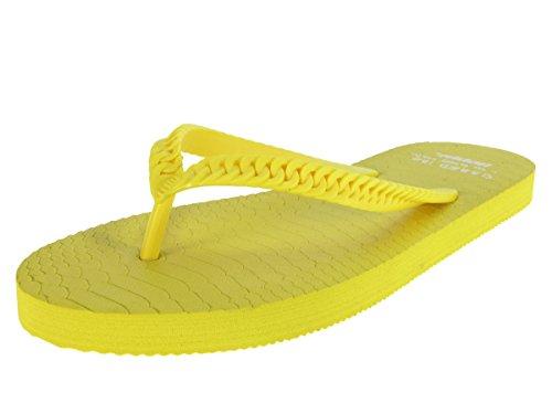 Beppi lingua 213038Sandali Scarpe da spiaggia Sandali Scarpe di balneazione Yellow
