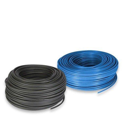 Cable electrique Set 6mm 10mt Rouge et 10mt Noir