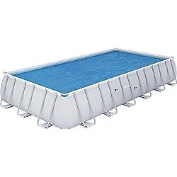 Bestway 58228 - Cobertor solar Manta Térmica para piscinas rectangulares, 687 x 336 cm