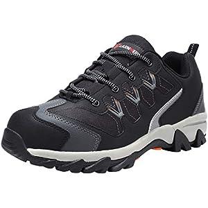 41djDo0xpgL. SS300  - Zapatillas de Seguridad Hombre, LM-18 Zapatos de Seguridad Antideslizantes con Punta de Acero Antipinchazos Calzados de Trabajo