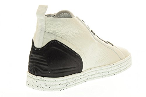 HOGAN REBEL scarpe donna sneakers alte HXW1820X420FTC0351 R182 Bianco