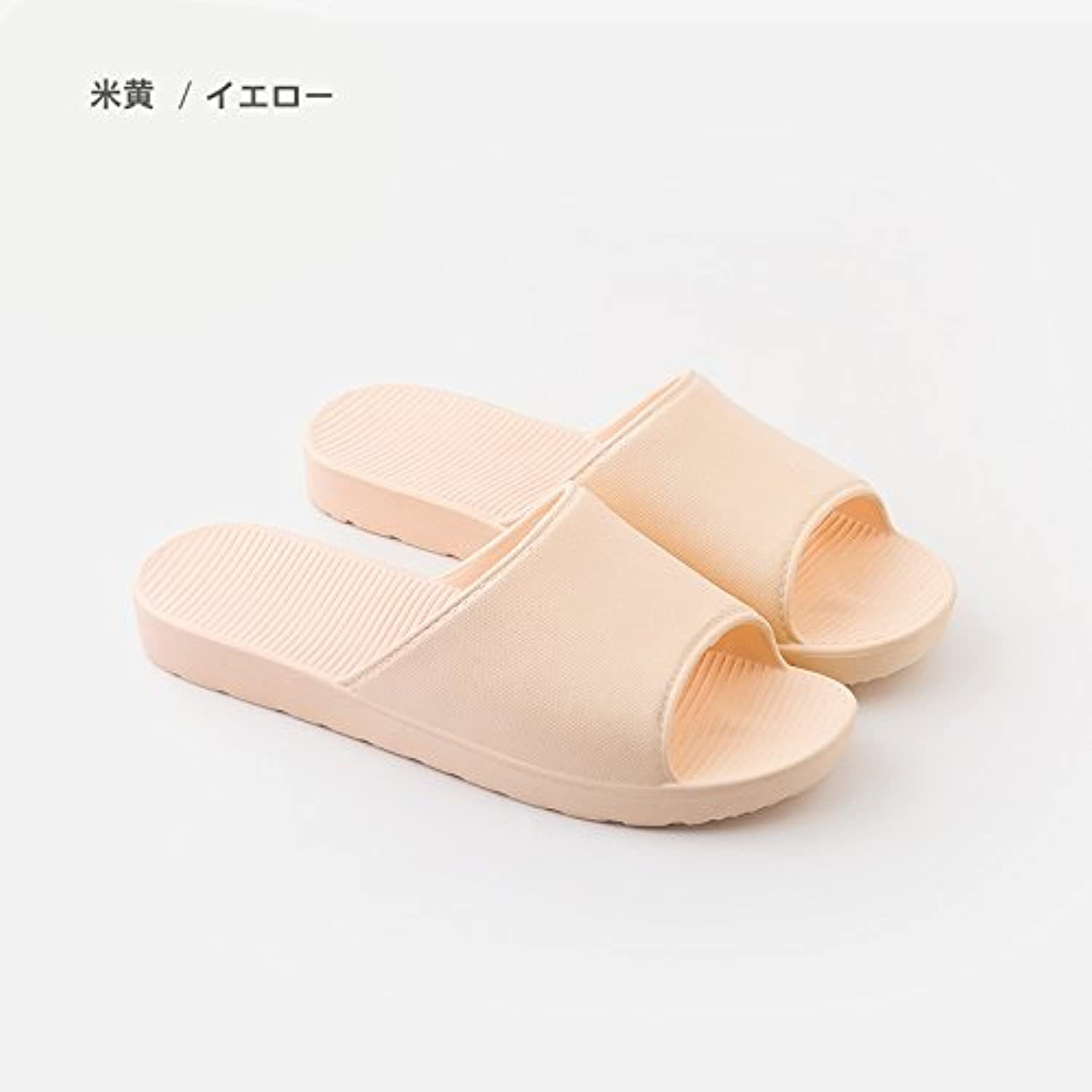 fankou Stay a Couple Indoor Couples Shower Slippers Girls Home and Deodorization Anti-Slip Bath Bath Slippers...