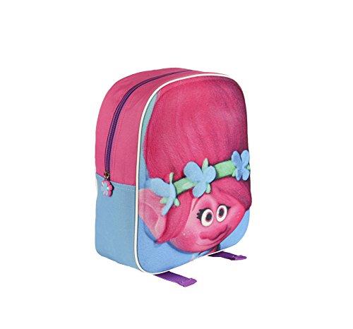 Imagen de cerdá trolls 3d relieve  infantil, 31 cm, rosa