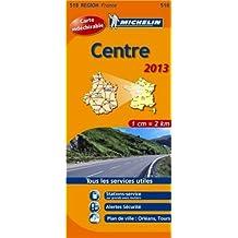 Carte REGION Centre 2013 n°518