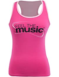 Zumba Damen Feel the Music Racerback