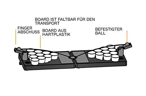 Mini-Bier-Pong-Tisch-Handgefertigt-stabiler-Kunststoff-Ideal-fr-Unterwegs-berall-Trinkspiel-Partyspiel-fr-jede-Party-Inkl-Katapulten-25-x-Mini-Beer-Pong-Bechern-5-cl