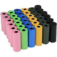 YOMMY® Bolsas para excrementos de perro 24/48/72 Rollos Total 360/720/1080 Bolsas Poop Bag para Perro Mascotas Animales Domésticos YM-0295 (360, Color Surtido)