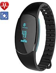 Braccialetto Fitness, Willful Orologio Bracciale Fitness Activity Tracker Watch Pressione Sanguigna Cardiofrequenzimetro da Polso Smartband Donna Uomo Contapassi Smartwatch Android Impermeabile IP67
