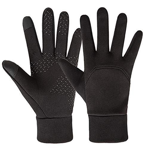 Gants d'hiver, gants de cyclisme Gants pour écran tactile Gants chauds imperméables et coupe-vent...
