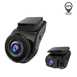 VANTRUE S1 Dual 1080P GPS Dashcam Auto Kamera, 2880x 2160P vorne, Prima Nachtsicht bei Sternenlicht, 2 Zoll 330° Hitzebeständig Superkondensator KFZ Autokamera Dash Cam, Parkmodus G Sensor Max. 256GB