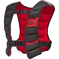 Reebok Weight Vest, Gilet di Peso Unisex-Adult, Black, 10.0 kg