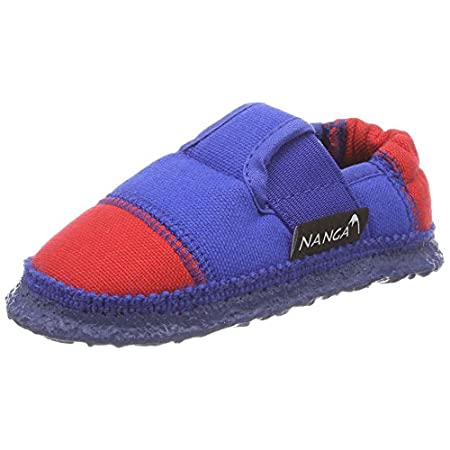 Nanga Kinder – Unisex Hausschuh Klette 06