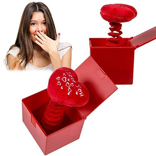 Eurowebb scatola a molla cuore i love you regalo san valentino amore