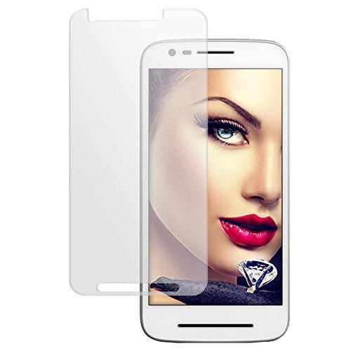 mtb more energy® Protector de pantalla de vidrio templado para Lenovo Moto E (3. Gen) / Moto E3 / Moto E3 Power (5.0