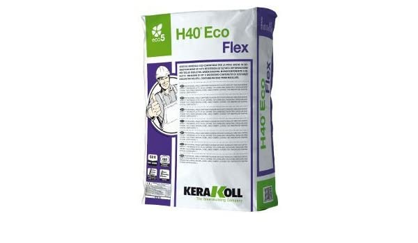 Colla h40 flex grigia kg. 5: amazon.it: fai da te