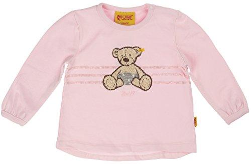 Steiff Baby - Mädchen Sweatshirt 6522213, Gr. 56, Rosa (barely pink rose 2560)