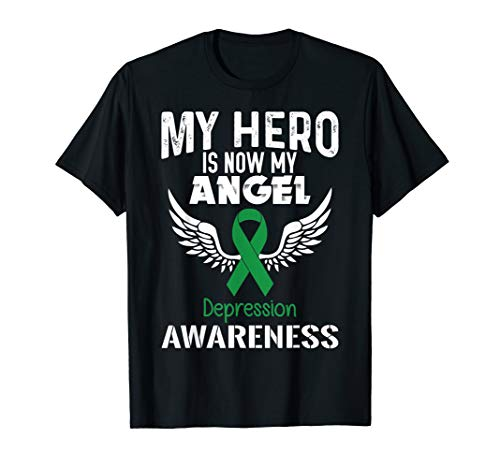 Depression Awareness Support Ribbon T-Shirt