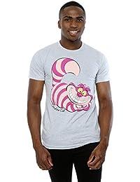 Disney Homme Alice In Wonderland Cheshire Cat T-Shirt XXX-Large Heather Gris