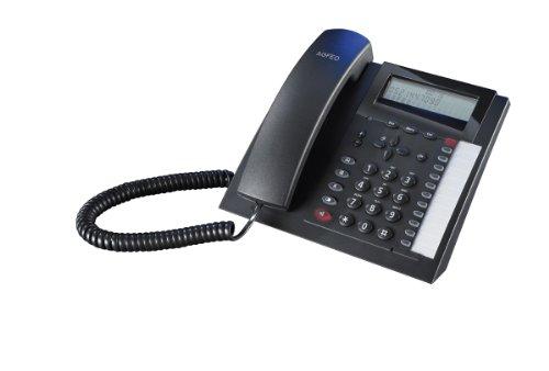 AGFEO 6101179 Analoges Telefon schnurgebunden T 18 schwarz