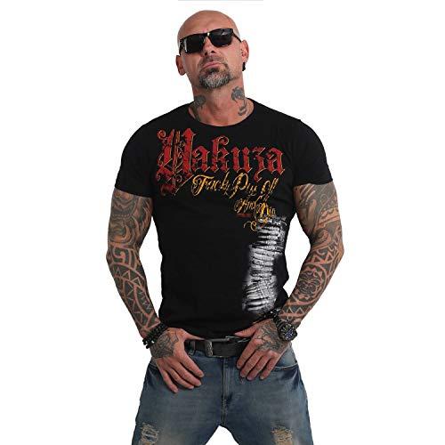 Yakuza Herren Piss Off and Die T-Shirt (Piss T-shirt Off)