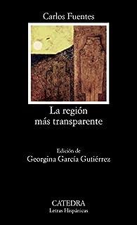 La región más transparente par  Carlos Fuentes