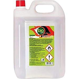 Bioetanolo combustibile stufe Bio Sprint 5 litri 99,9% inodore no fumo naturale no zolfo 41djOvUOLIL. SS300