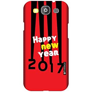 Printland Designer Back Cover For Samsung Galaxy S3 Neo - Happy New Year Cases Cover