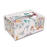 YJ-accessories Kreative süße Tissue-Box Hause Wohnzimmer Couchtisch Einfache Nordic Fach Fernbedienung Kunststoff Aufbewahrungsbox